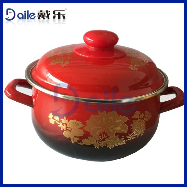 2015 New Product Enamel Pot